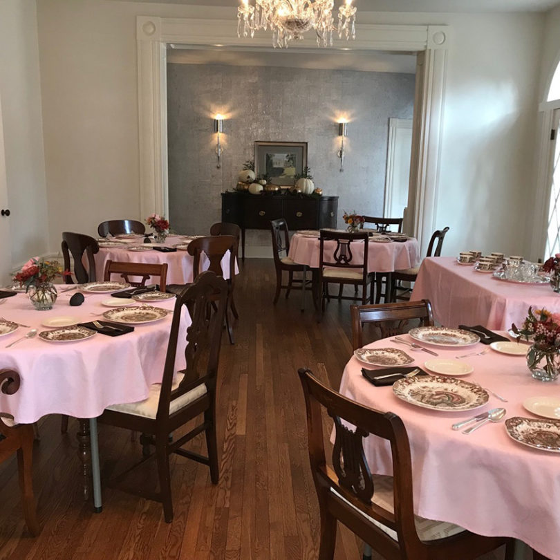 dining room for meetings and events